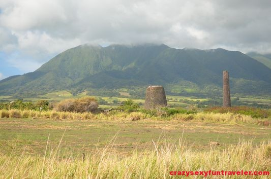 cattle mill ruins on St. Kitts