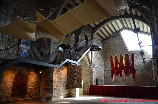 inside Sant Salvador church