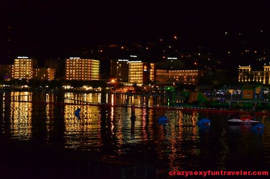 lit up hotels in Portoroz