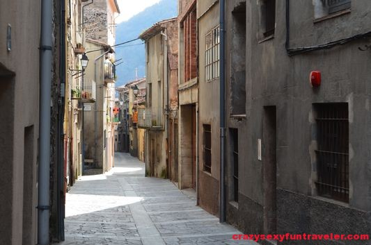 medieval streets of Castellfollit de la Roca