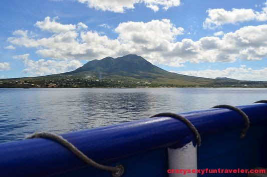 on the ferry from St. Kitts to Nevis