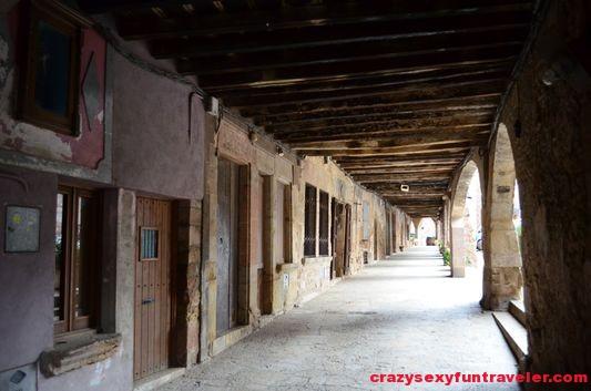 porticoed square Firals dels Bou Santa Pau