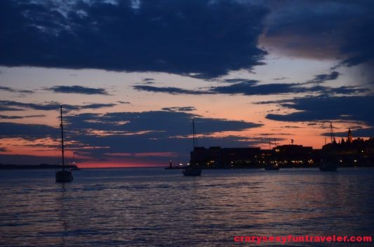 sunset from Portoroz