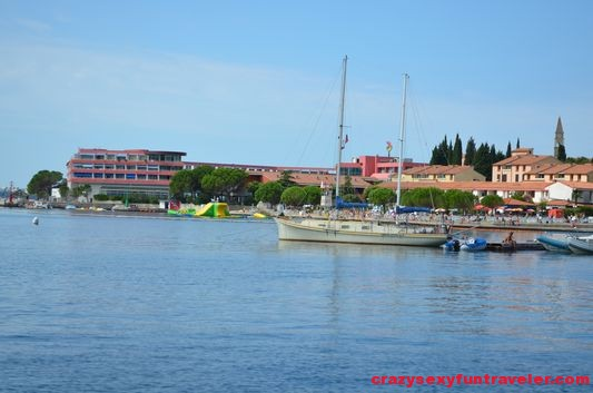 walking from Portoroz to Bernardino