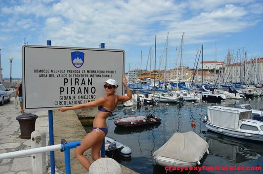 welcome to Piran port