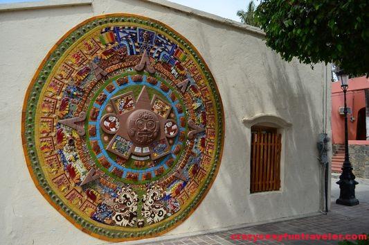 Piedra del sol interpretation in Todos Santos
