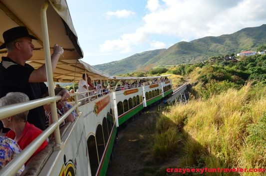 Scenic Railway through St. Kitts nature