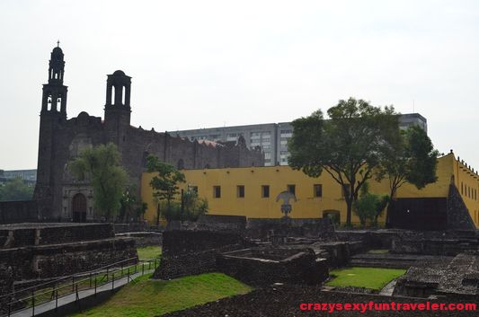 Tlatelolco Templo de Santiago with monastery