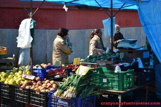 a local market Girona