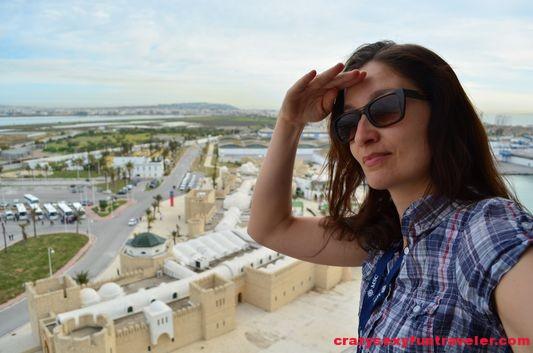 arrived in La Goulette Tunis