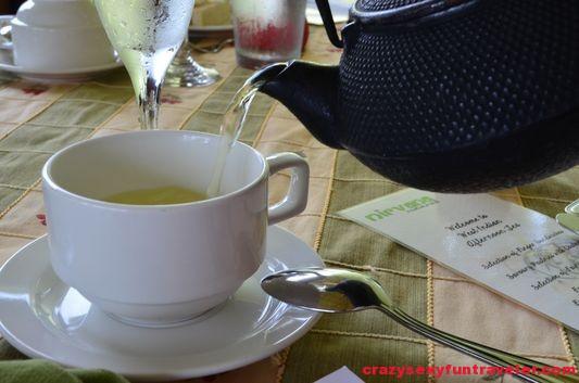 delicious herbal tea