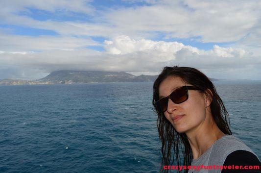 left Naples and Capri