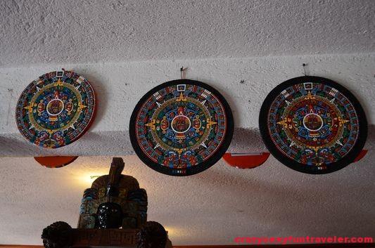 more Aztec calendars