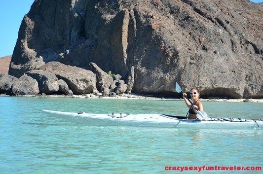 really had fun kayaking at beautiful Balandra beach La Paz