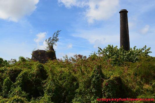 sugar mill ruins Nevis
