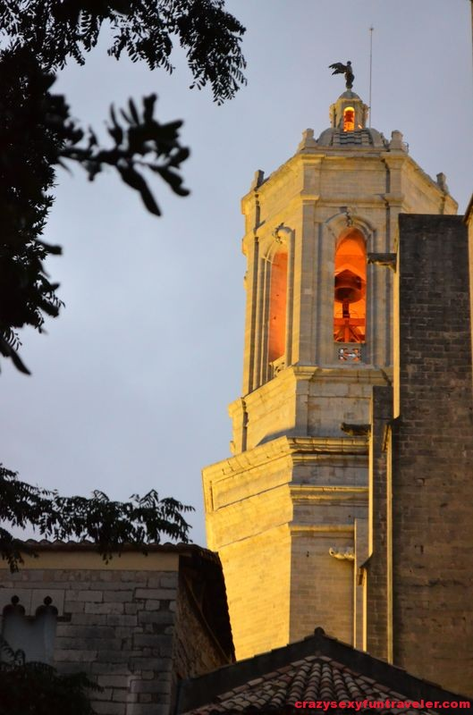 the Girona Cathedral Tower