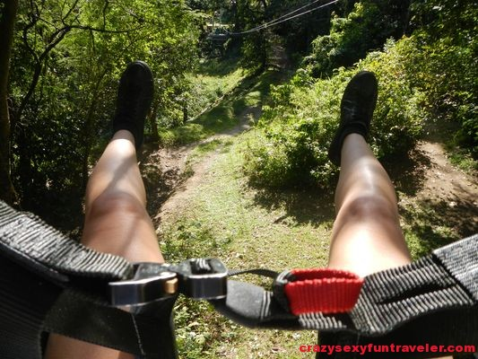 zip line with Sky Safari St. Kitts
