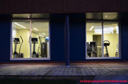 Hotel La Ferme gym