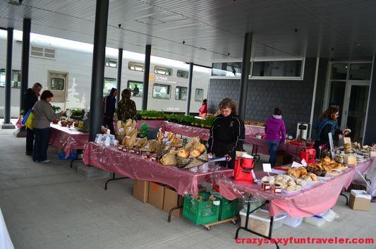 La Ferme local market