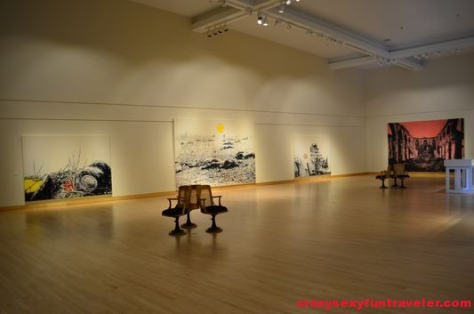 Marc Seguin exhibition in the Contemporary Museum of Art in Baie-Saint-Paul