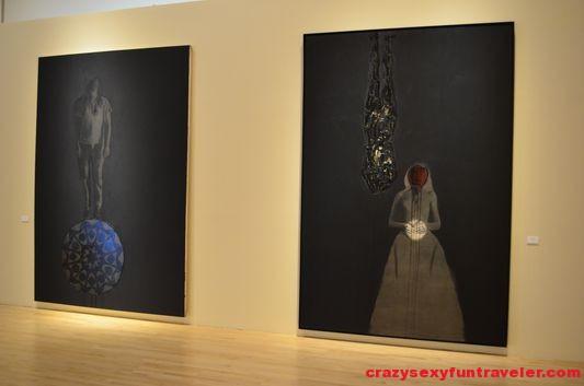 Marc Seguin religious paintings