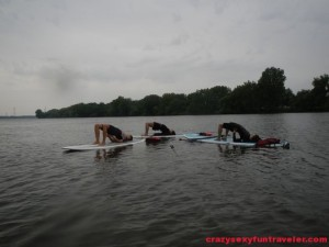 SUP yoga in Montreal