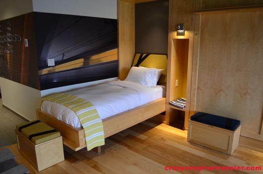 a bed in hostel part of La Ferme