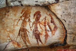Bradshaw rock paintings