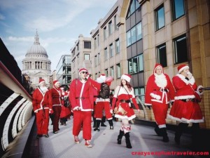Santacon in London