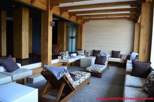 Spa du Verger at Hotel La Ferme inside