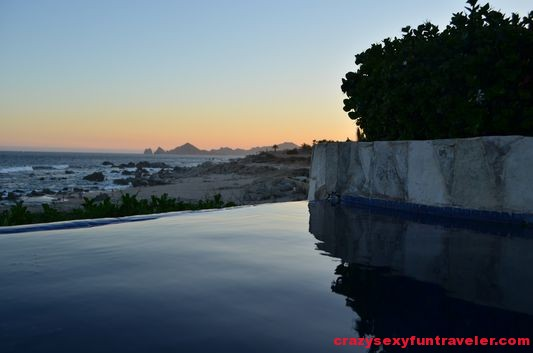 infinity pool in Hacienda Encantada