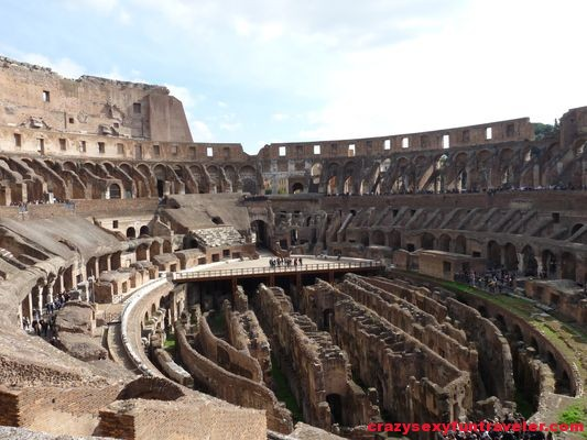 spectacular Colosseum in Rome