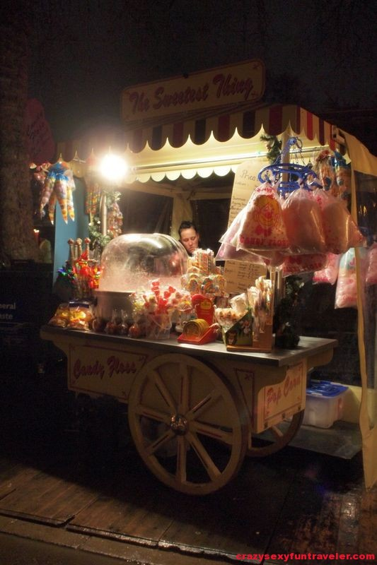sweets at Winter Wonderland