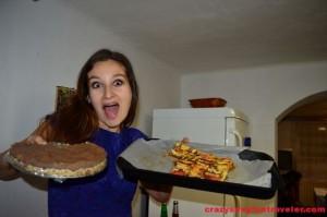 with my raw vegan cakes