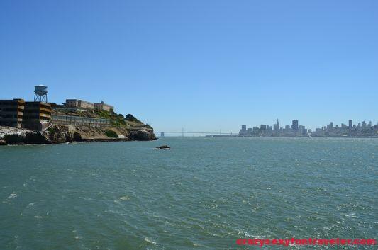 Alcatraz and SF Downtown skyline