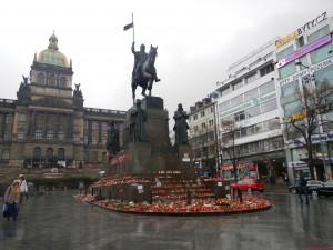 Vaclavske namesti in Prague