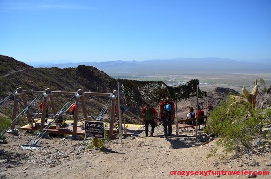 Flightlinez Bootleg canyon zipline Las Vegas (12)