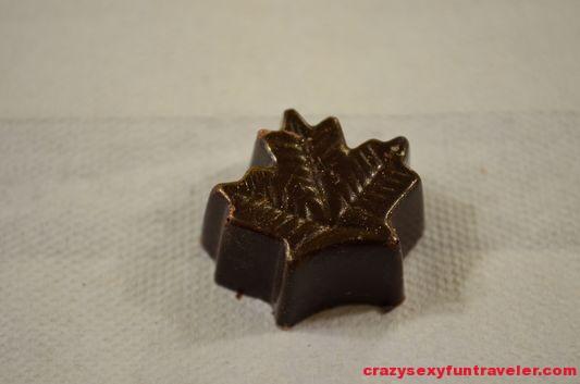 La Chocolaterie du Village maple syrup chocolate