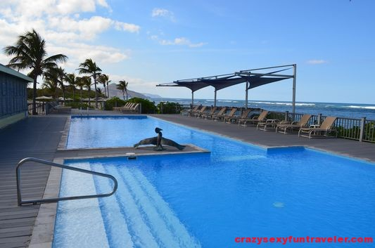 Nisbet Plantation Nevis swimming pool