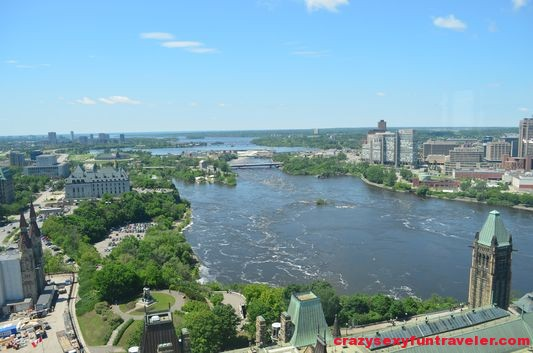Ottawa from Parliament Peace Tower (2)