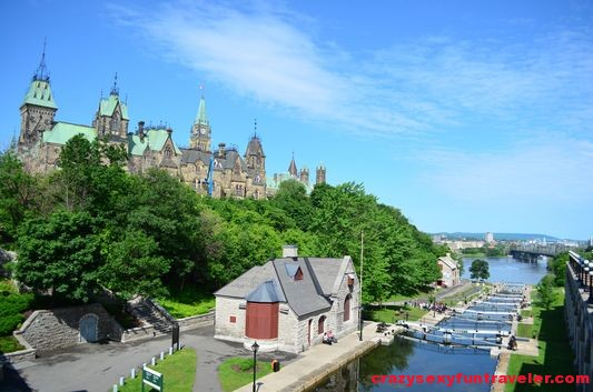 Rideau Canal locks Ottawa (1)