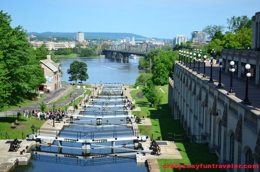Rideau Canal locks Ottawa (2)