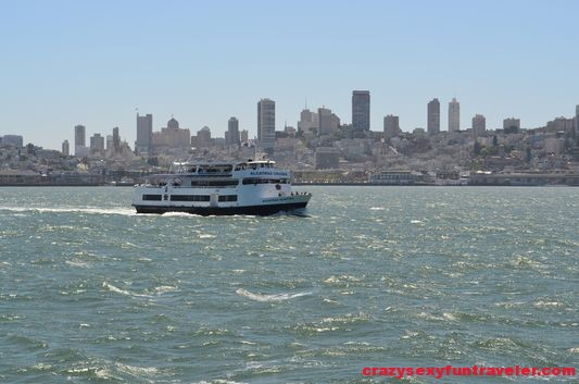 SF skyline with another cruise