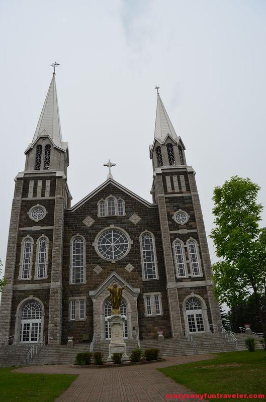 Sacred Heart Church in Baie-Saint-Paul