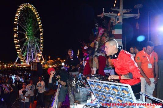 Taboo from Black Eyed Peas at Molo Street Parade Rimini 2013 (8)