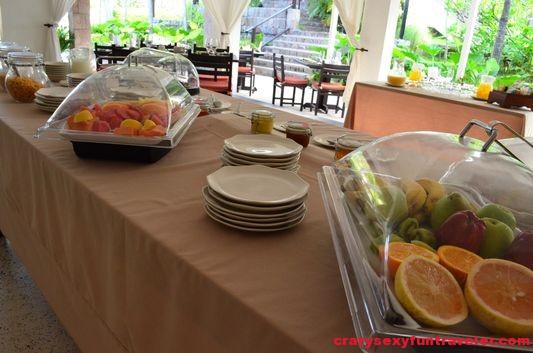 fresh fruit for breakfast in Montpelier