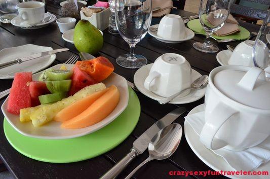 my fresh fruit plate