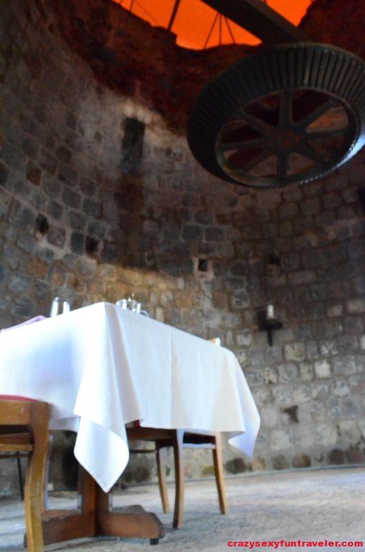 romance inside the mill
