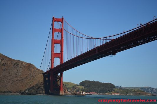the Golden Gate Bridge from the other side