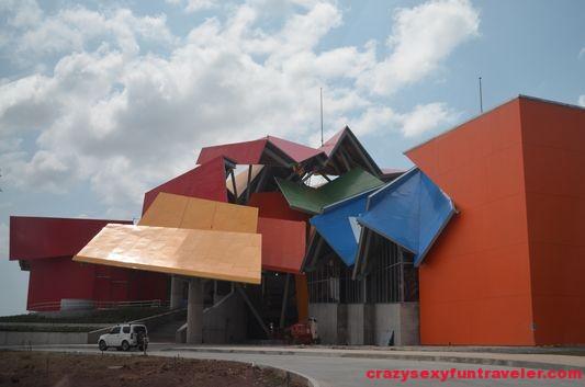 Frank Gehry Biodiversity Museum Amador Causeway